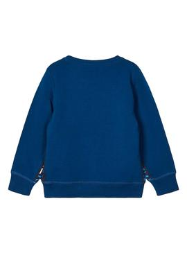 Sweatshirt Name It Lasso Blue for Boy