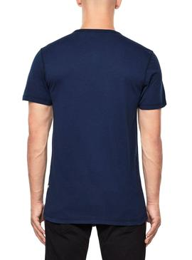 T-Shirt G Star Wavy Blue for Man