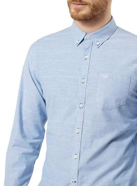 Shirt Dockers Oxford Blue for Man