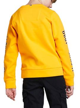 Sweatshirt Jack and Jones Covictor Yellow Boy