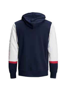 Sweatshirt Jack and Jones Blair Blue Boy