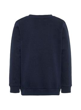 Sweatshirt Name It Van Navy Blue Boy