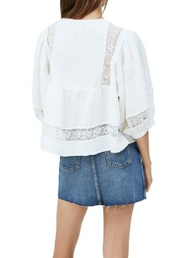 Blouse Pepe Jeans Sophie White for Woman
