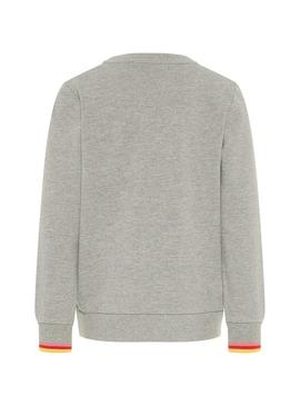 Sweatshirt Name It Moshila Gray Girl