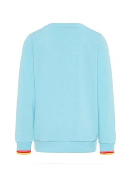 Sweatshirt Name It Moshila Blue Girl