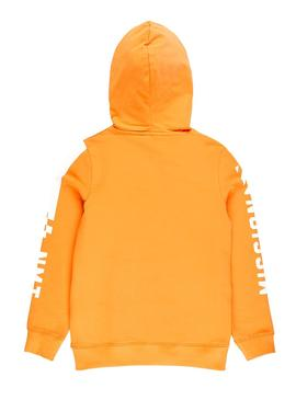 Sweatshirt Name It Toke Orange Boy