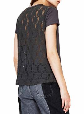 T-Shirt Pepe Jeans Linsey Gray for Woman