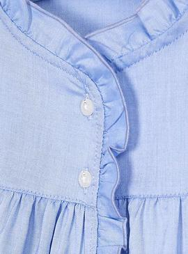 Blouse Mayoral Ruffle Blue for Girl