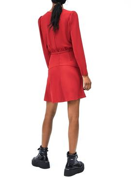 Dress Pepe Jeans Renata Red for Woman