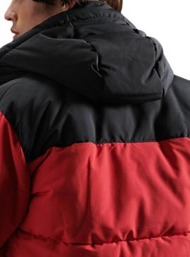 Jacket Superdry Quilted Everest Red for Man