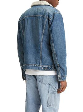 Jacket Levis Sherpa for Man