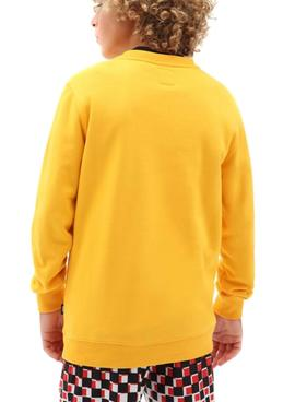 Sweatshirt Vans OTW Crew Yellow for Boy
