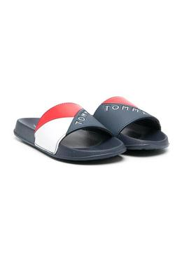 Flip flops Tommy Hilfiger Slider Blu Navy Boy Girl