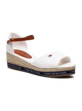 Flip flops Tommy Hilfiger Rope Wedge White Girl