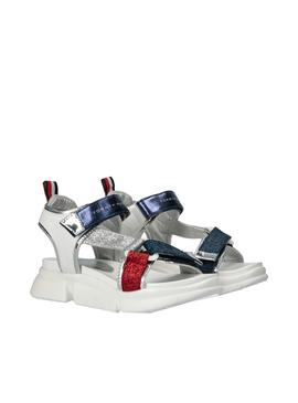 Flip flops Tommy Hilfiger Velcro White for Girl