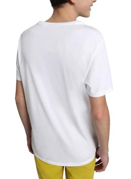 T-Shirt Napapijri Seji White for Boy