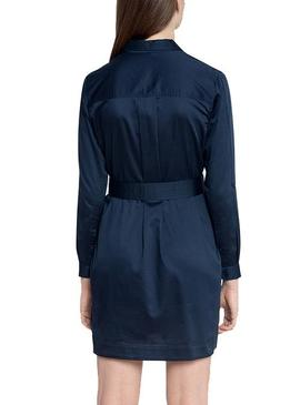 Dress Pepe Jeans Carlotty Navy Blue for Woman