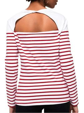 T-Shirt Superdry Callie Red Woman