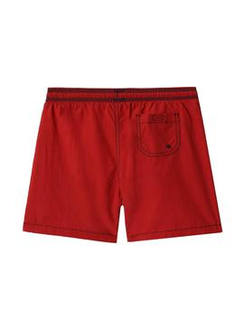 Swimsuit Napapijri Veji Red for Boy